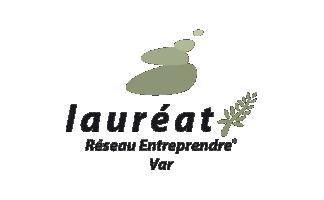 Lauréat Réseau Entreprendre Var
